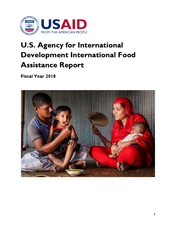 USAID International Food Assistance Report, FY 2018