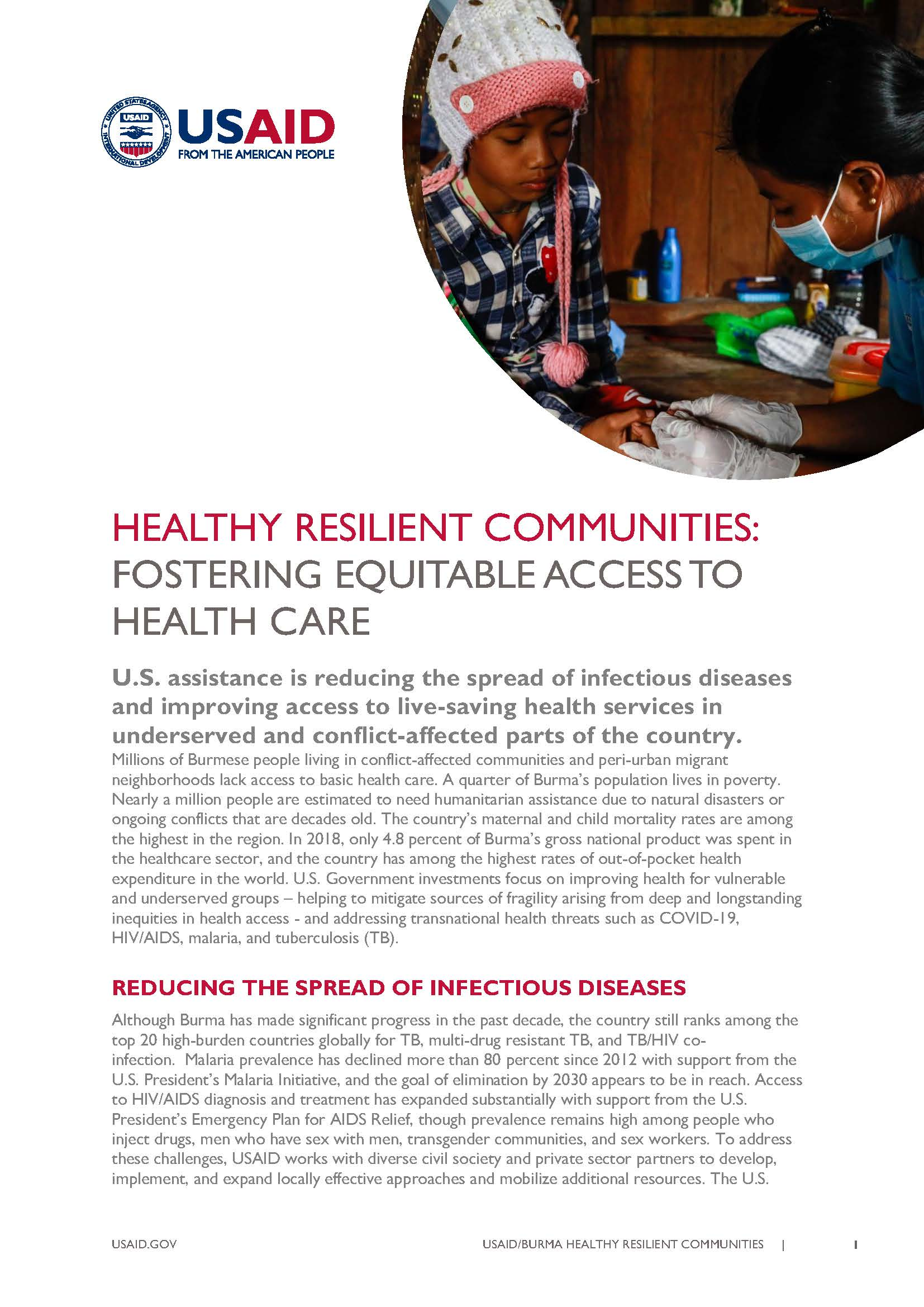 Healthy Resilient Communities: Fostering Equitable Access to Health Care