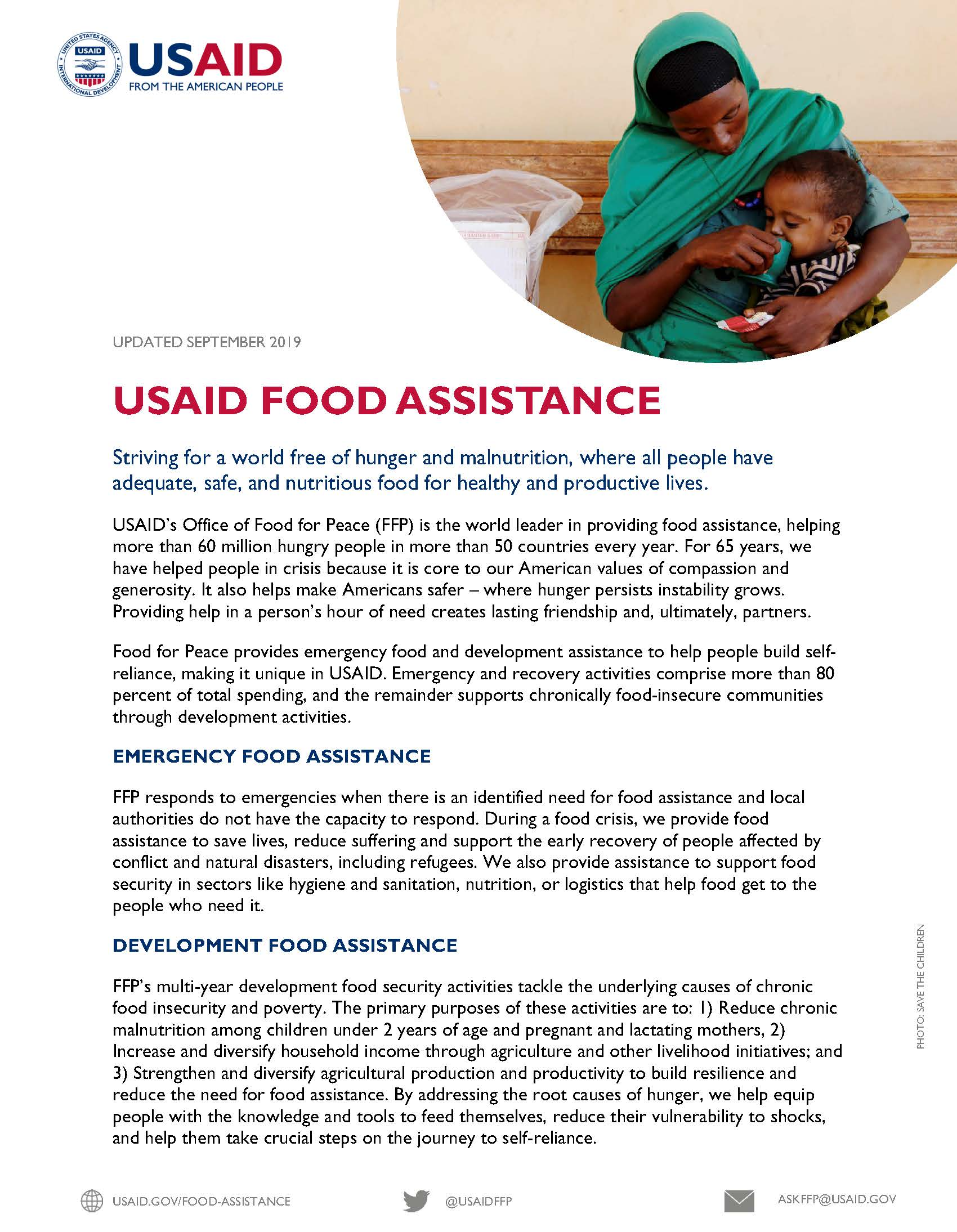 USAID Food Assistance Overview