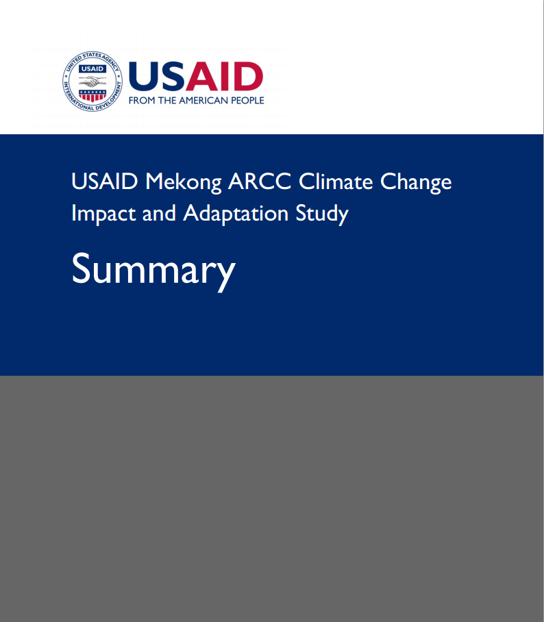 USAID Mekong Climate Change Summary Report 2013