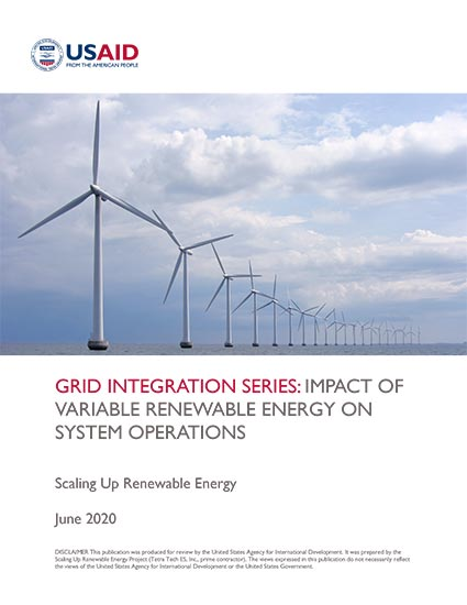 Renewable Energy Auctions Toolkit: Impact on System Operations