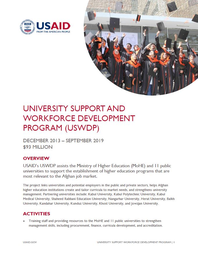 University Support and Workforce Development Program (USWDP)