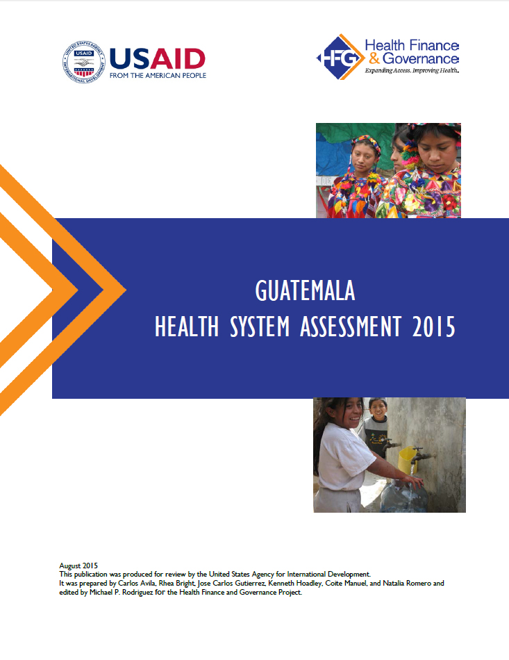 Guatemala Health System Assessment 2015