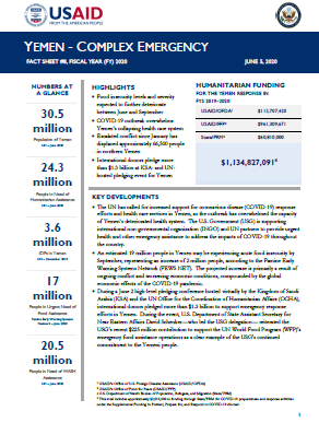 Yemen Complex Emergency Fact Sheet_8 06-05-2020