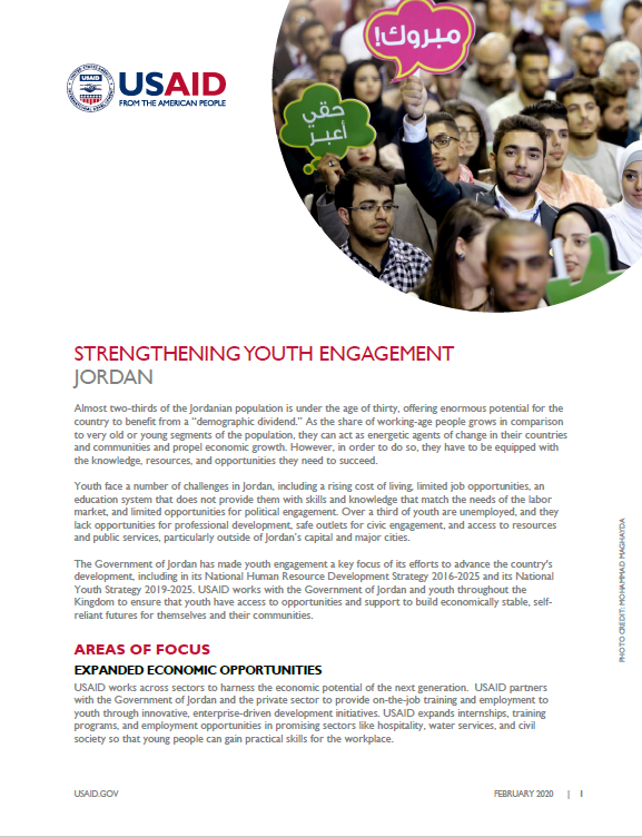 Strengthening Youth Engagement Fact Sheet