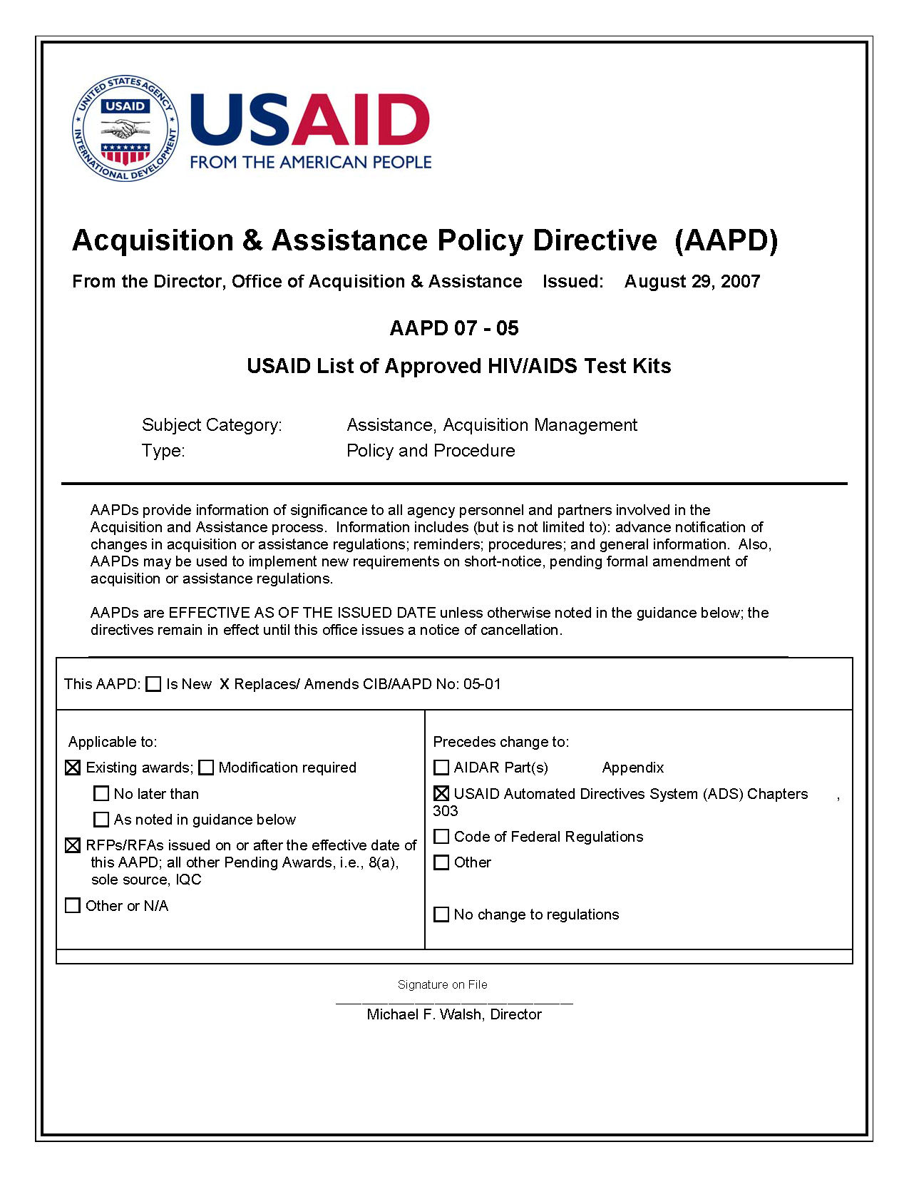 AAPD 07-05