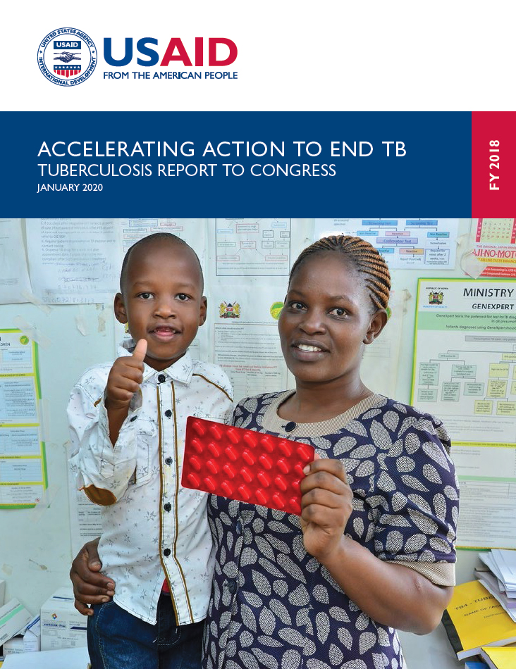 Annual Report to Congress on TB cover image