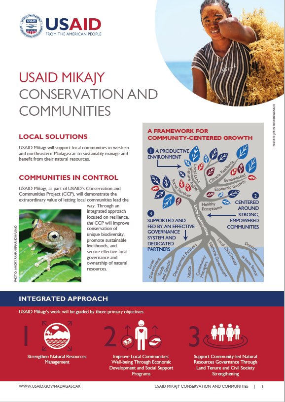 Fact Sheet on USAID Mikajy