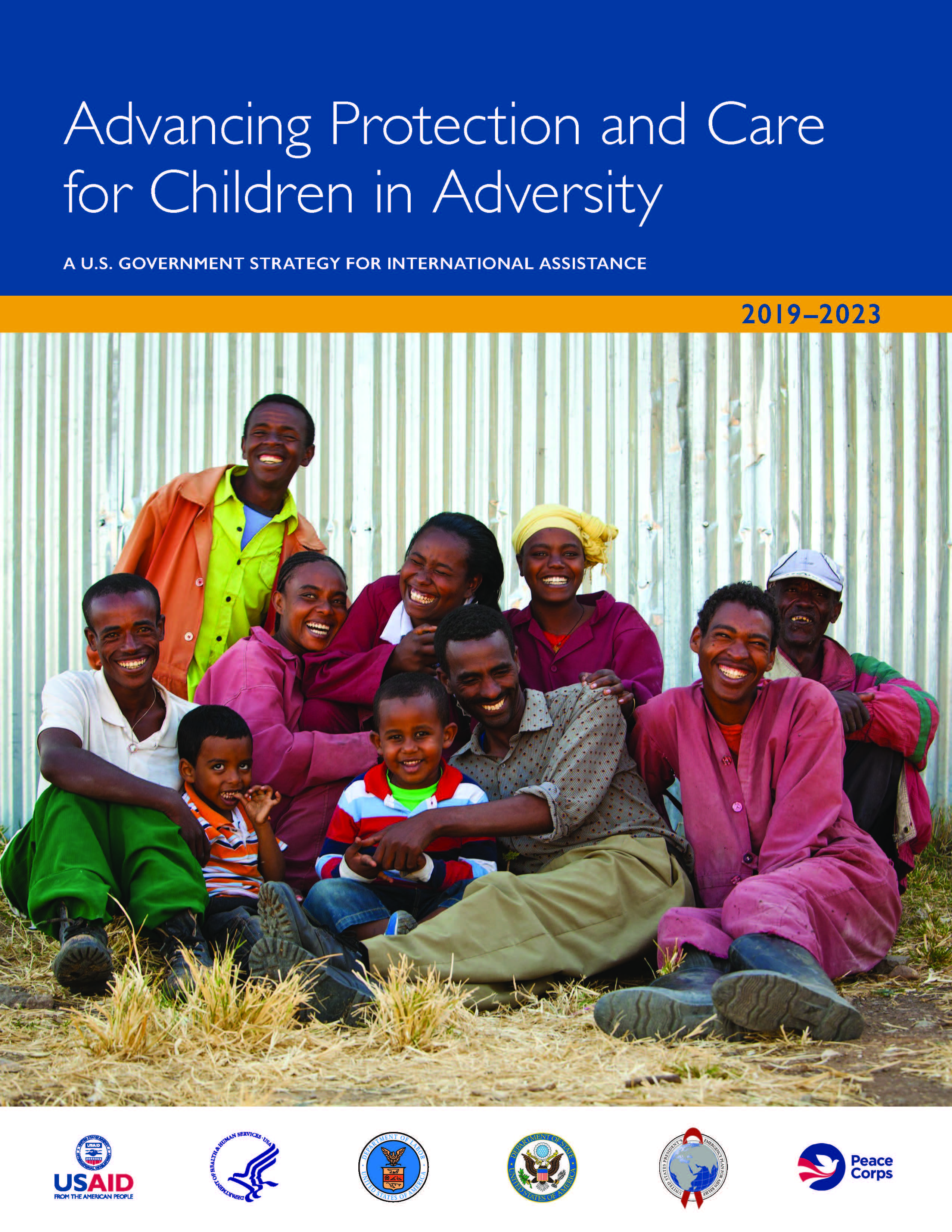 U.S. Government strategy for international assistance to children in adversity
