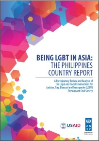 Being LGBT in Asia: The Philippines Country Report