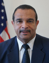 USAID/Haiti Acting Mission Director Mark Anthony White