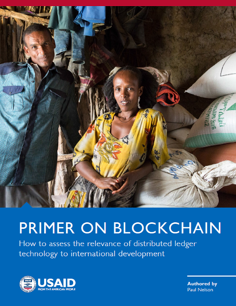 Primer on Blockchain: How to assess the relevance of distributed ledger technology to international development