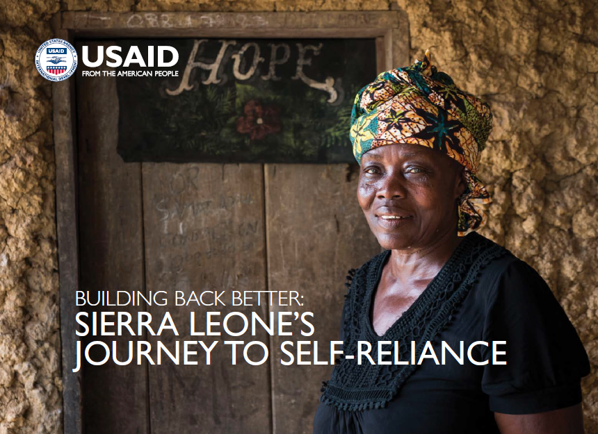 Building Back Better: Sierra Leone's Journey to Self-reliance