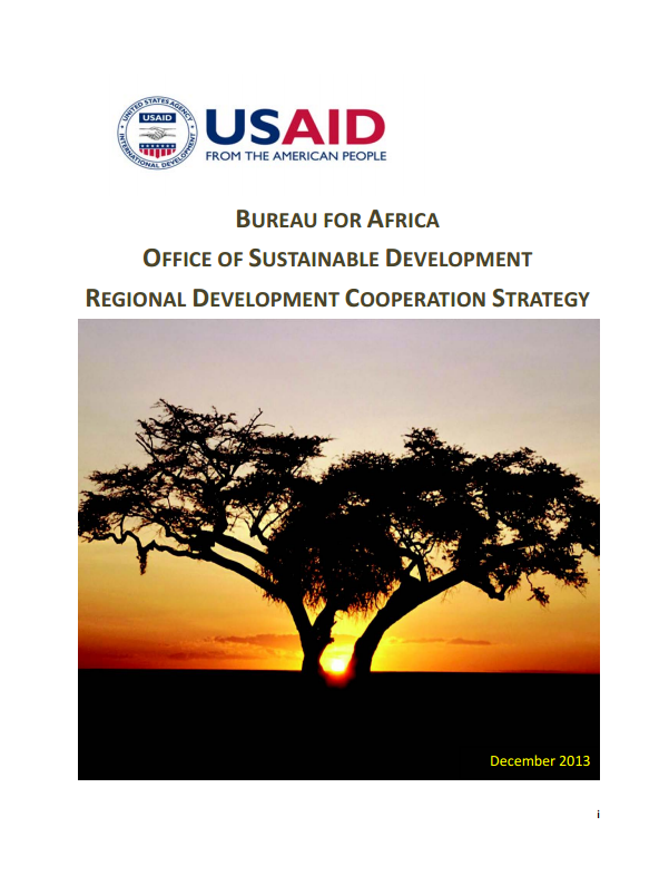 Bureau for Africa's Office of Sustainable Development RDCDS