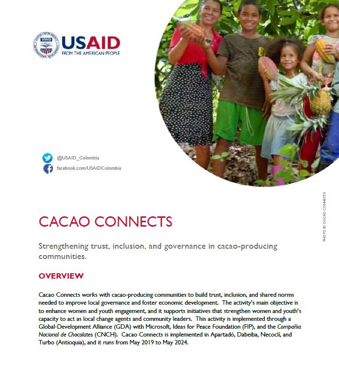 Cacao Connects Fact Sheet