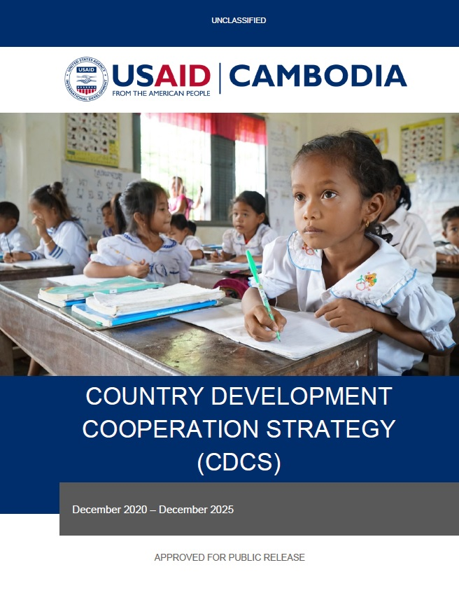 Country Development Cooperation Strategy (CDCS) - Cambodia, 2020-2025