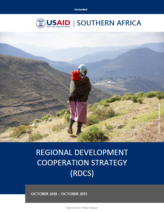 USAID Southern Africa's Regional Development Cooperation Strategy