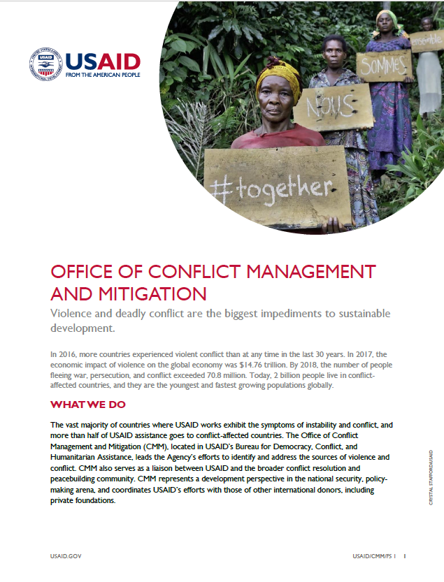 Office of Conflict Management and Mitigation