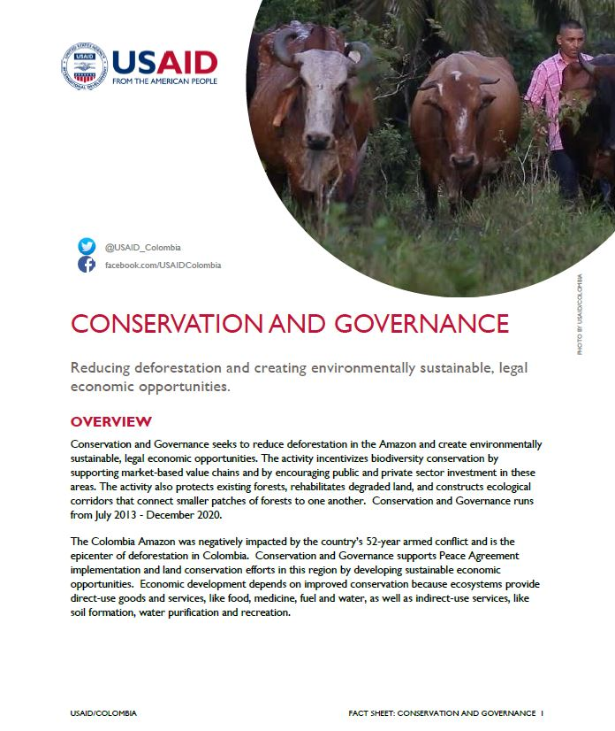 Conservation and Governance Fact Sheet