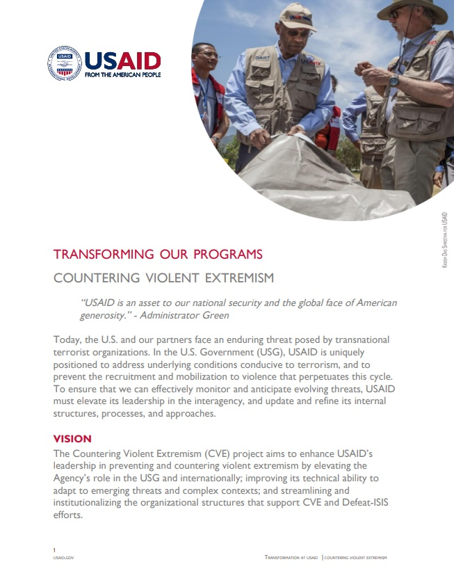 Fact Sheet: Countering Violent Extremism