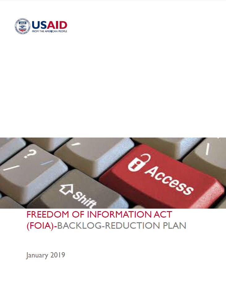 Freedom Of Information Act (FOIA)-Backlog-Reduction Plan