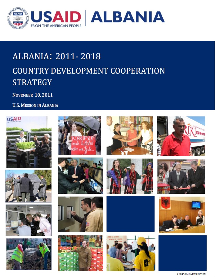 Albania: 2011‐ 2018 Country Development Cooperation Strategy