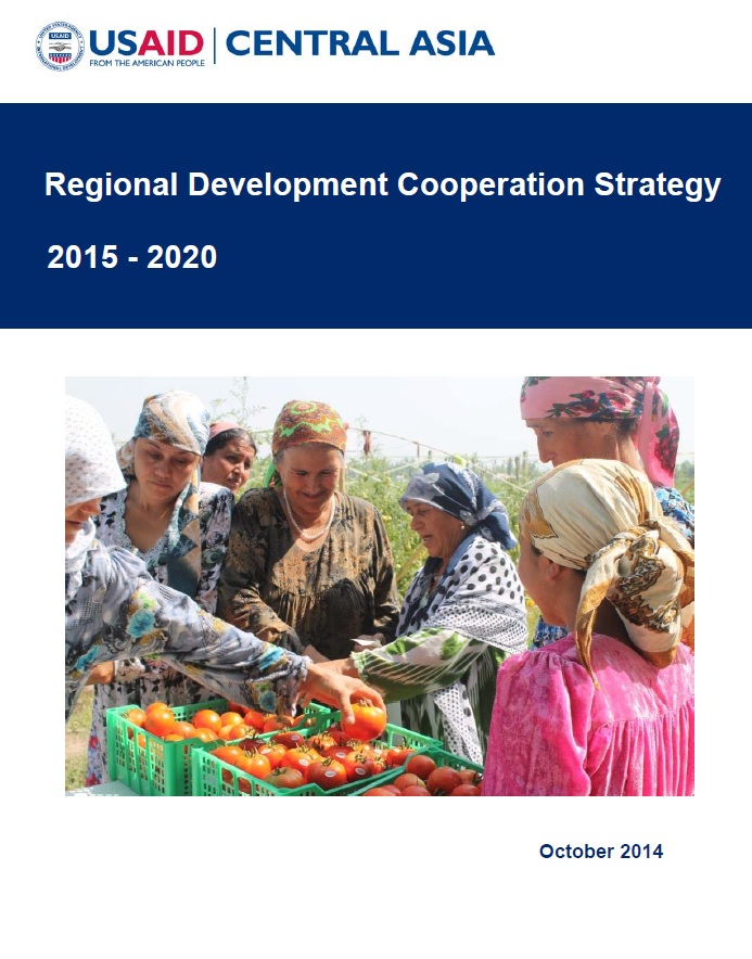 USAID Central Asia Regional Development Cooperation Strategy
