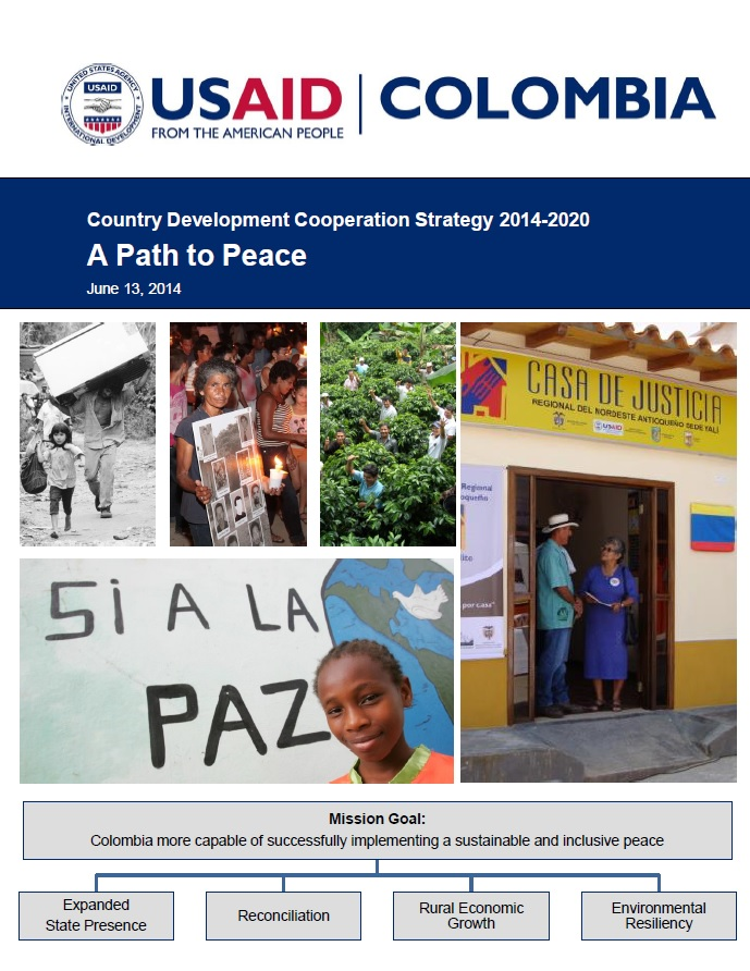 Colombia - Country Development Cooperation Strategy 2014-2020