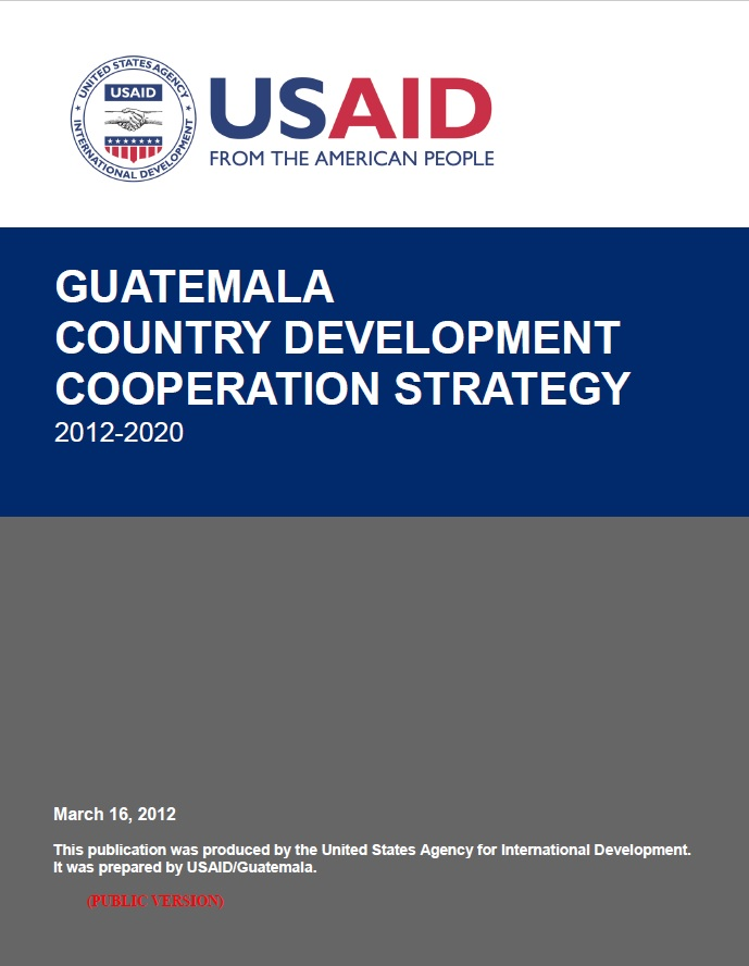 Guatemala - Country Development Cooperation Strategy
