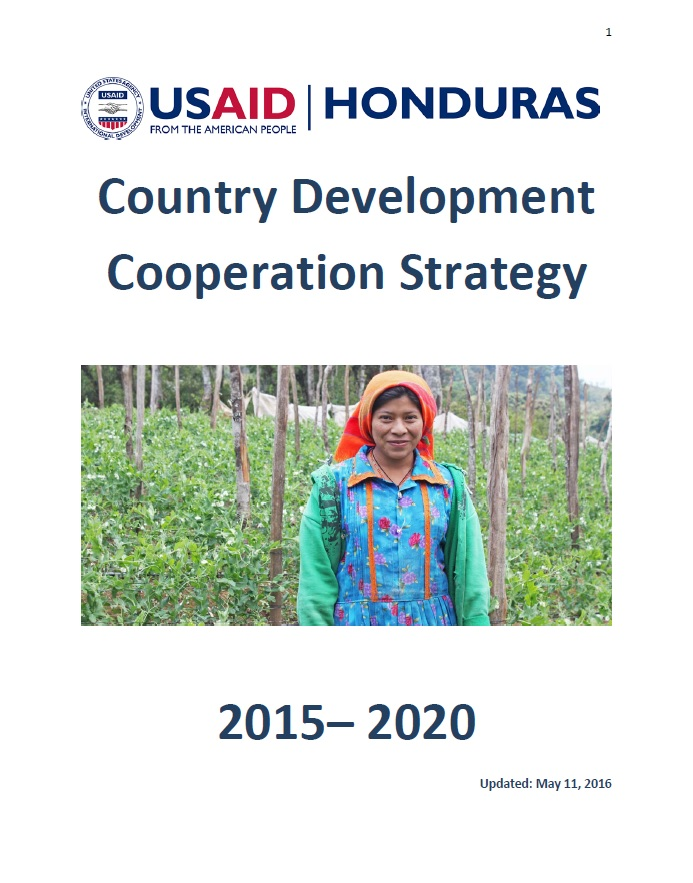 Honduras - Country Development Cooperation Strategy 2015-2020