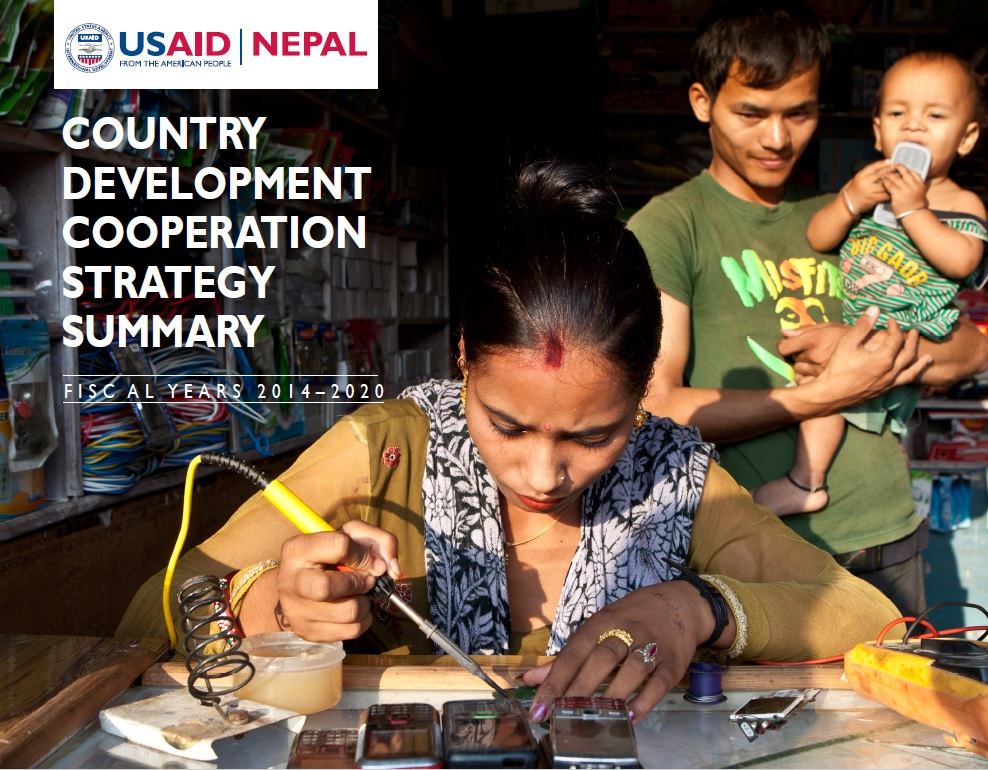 Country Development Cooperation Strategy - Nepal