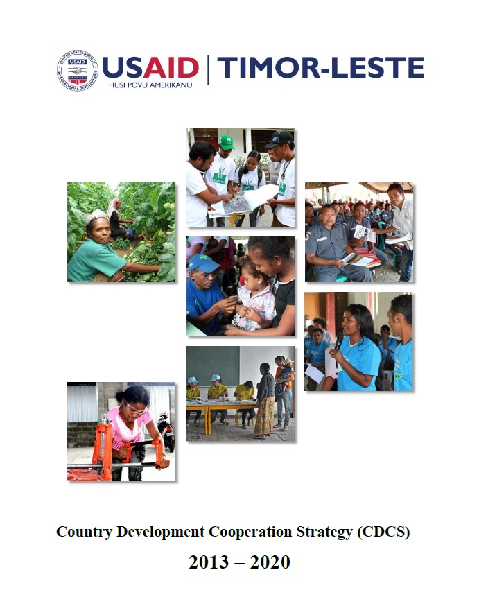 Timor-Leste Country Development Cooperation Strategy - 2013-2020
