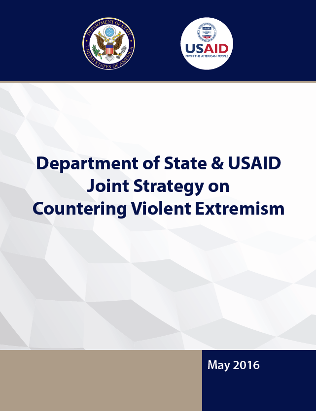 Department of State & USAID Joint Strategy on Countering Violent Extremism