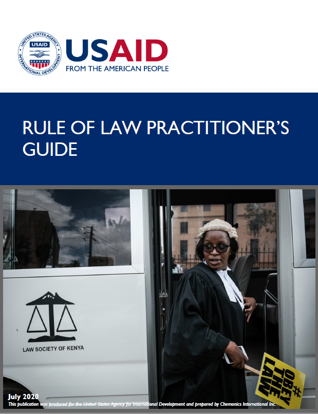 Rule of Law Practitioner's Guide