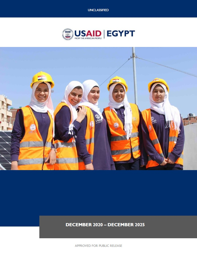 Country Development Cooperation Strategy (CDCS) - Egypt, 2020-2025