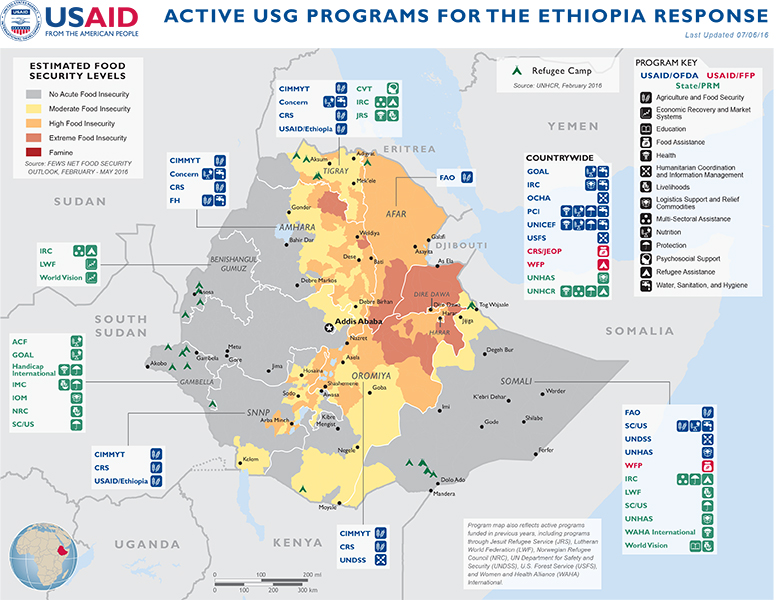 Ethiopia Complex Emergency Fact Sheet #14 FY2016   July 6