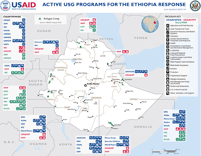 Crisis in Ethiopia - Complex Emergency | U S  Agency for