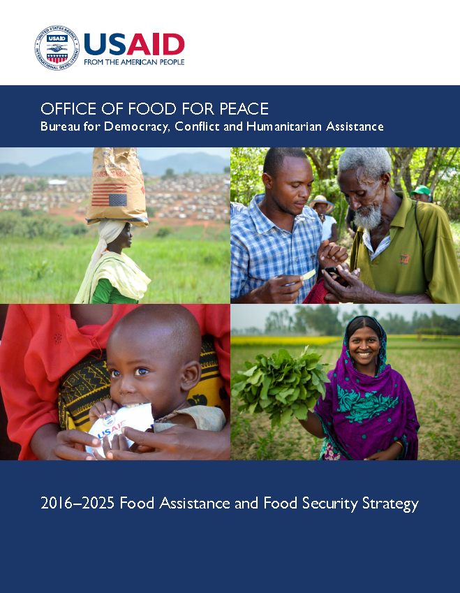 Food for Peace Food Assistance and Food Security Strategy 2016–2025