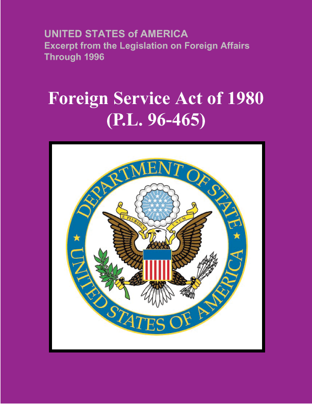 Foreign Service Act of 1980