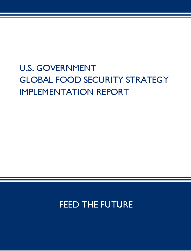 U.S. Government Global Food Security Strategy Implementation Report