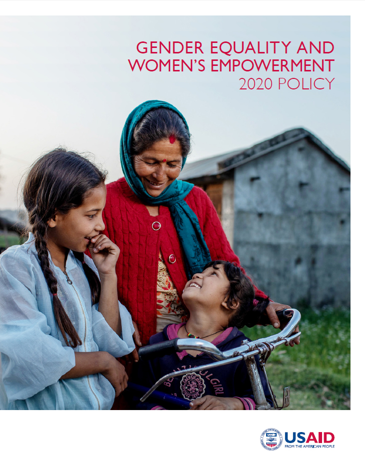 2020 Gender Equality And Women's Empowerment Policy
