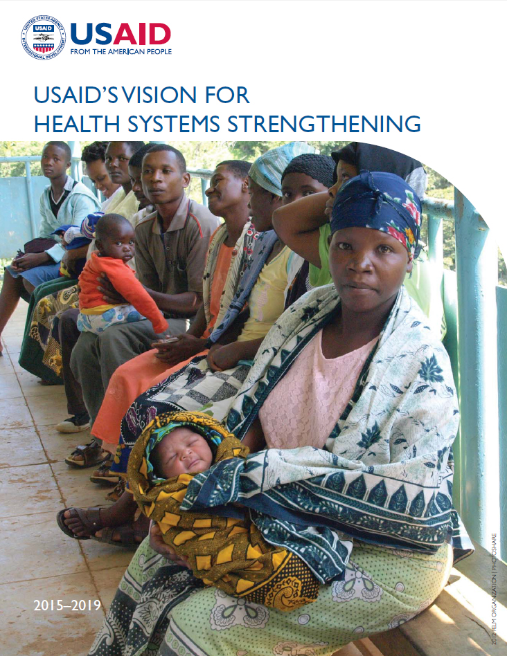USAID's Vision for Health Systems Strengthening cover image