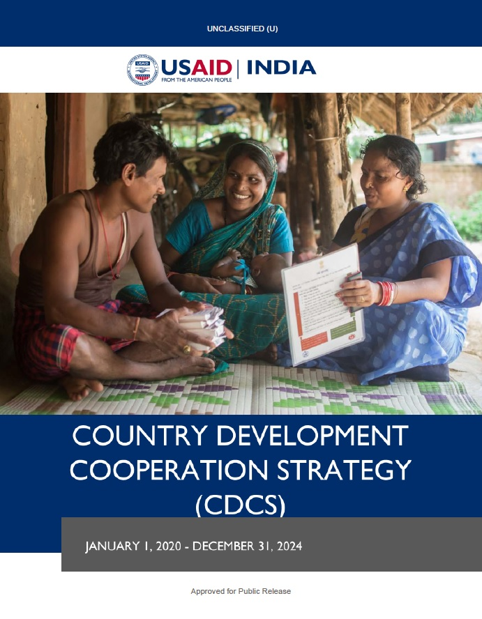 USAID/India Country Development Cooperation Strategy (CDCS) 2020-2024