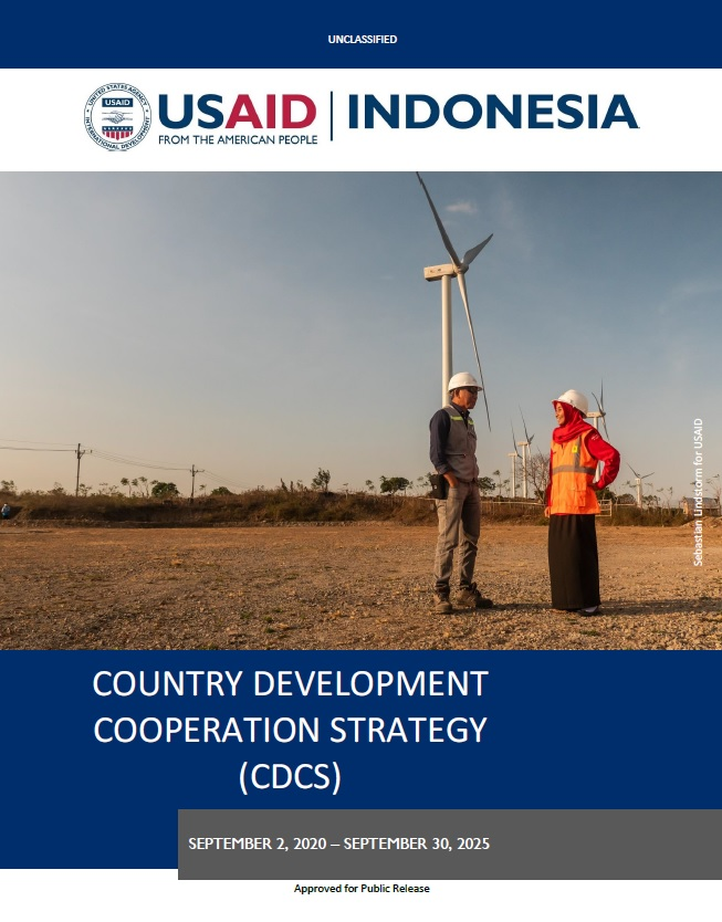 Country Development Cooperation Strategy (CDCS) - Indonesia, 2020-2025