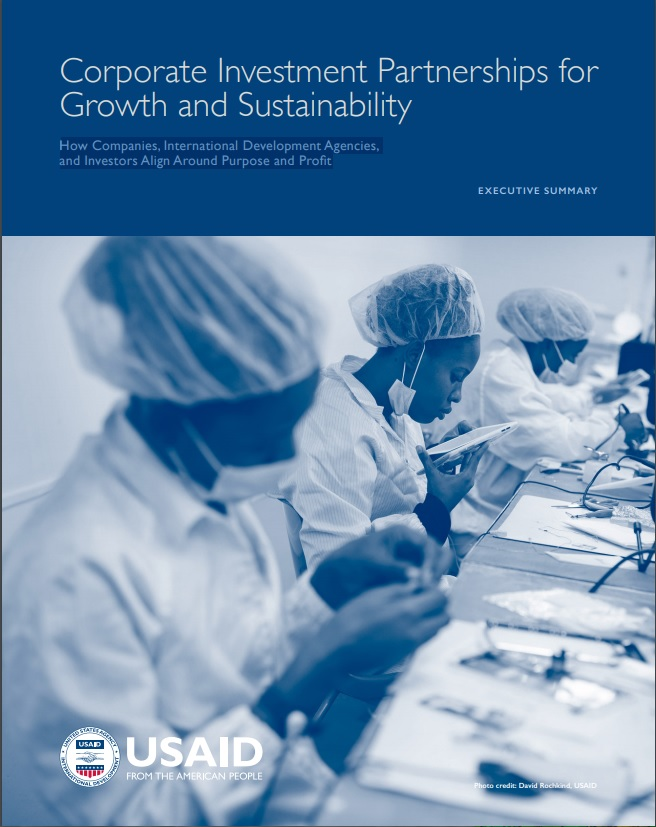 Corporate Investment Partnerships for Growth and Sustainability