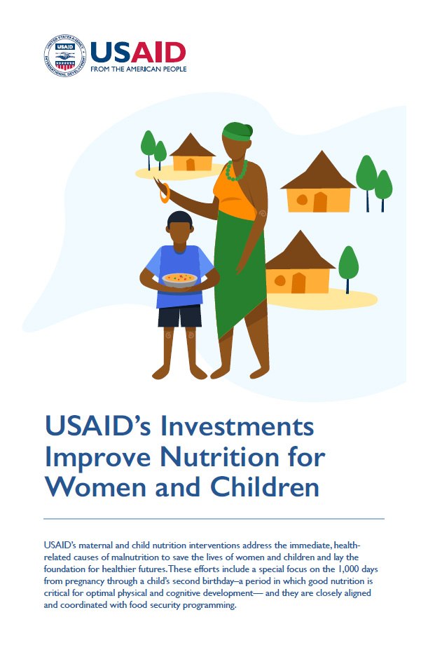 USAID's Investments Improve Nutrition for Women and Children