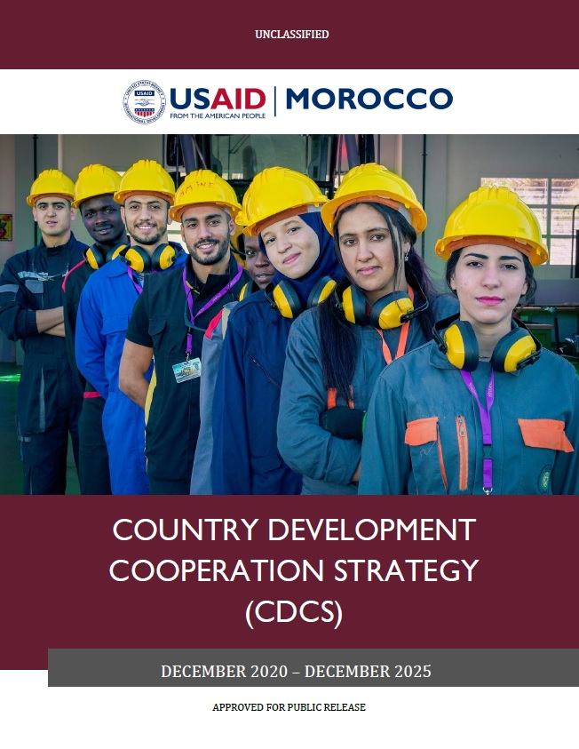 Country Development Cooperation Strategy (CDCS) - Morocco, 2020-2025