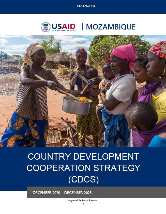 Country Development Cooperation Strategy (CDCS) - Mozambique, 2020-2025