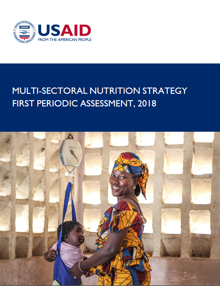 Multi-sectoral Nutrition Strategy First Periodic Assessment, 2018