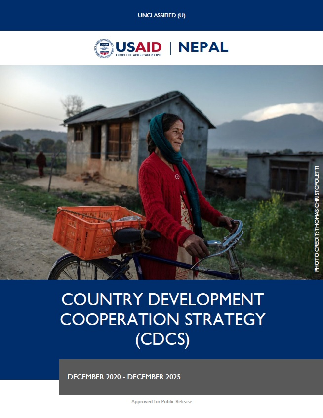 Country Development Cooperation Strategy (CDCS) - Nepal, 2020-2025